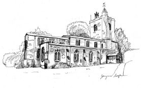 Pen and Ink House, Venue or Place Portrait
